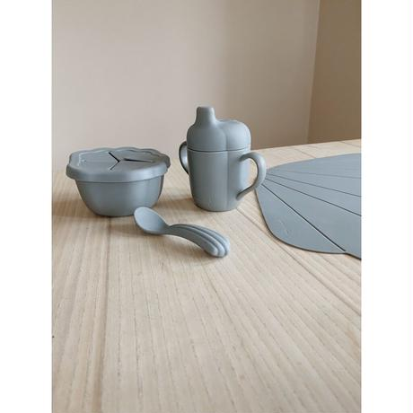 Konges Sloejd  SILICONE CLAM SET * LIGHT BLUE