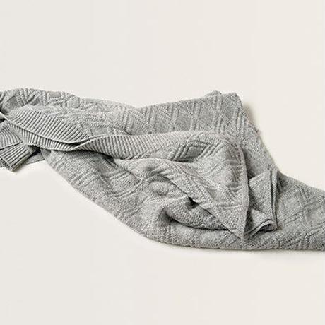 garbo&friends * Ollie Sand Blanket コットンブランケット・グレー