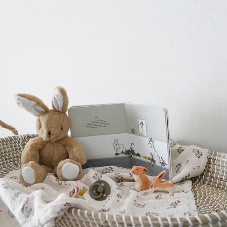 Holztiger / Hare, small, running