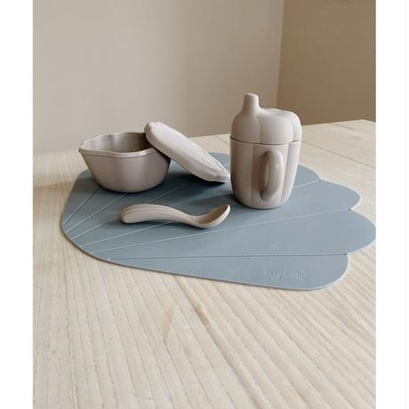 Konges Sloejd  SILICONE PLACEMAT CLAM *LIGHT BLUE