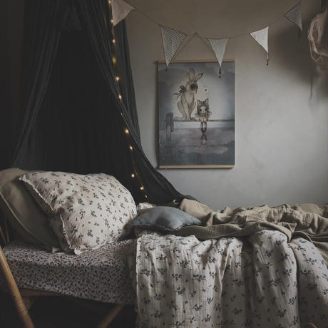 garbo&friends * Bluebell *  Adults  Bedset   150x210 cm 大人用ベッドカバー