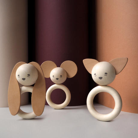 garbo&friends  * Bunny Teether * 歯固め ウサギ