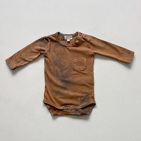 The Simple Folk / The Tie-Dye Onesie・RUST TIE-DYE