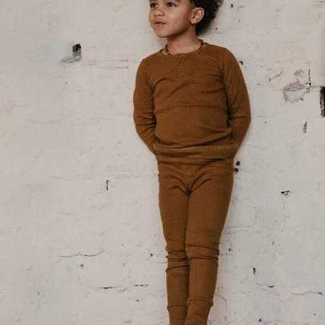 The Simple Folk / The Ribbed Legging・BRONZE