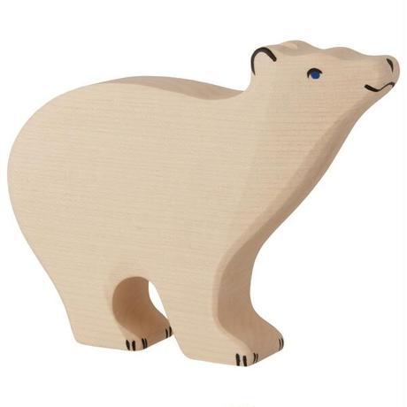 Holztiger /Polar bear