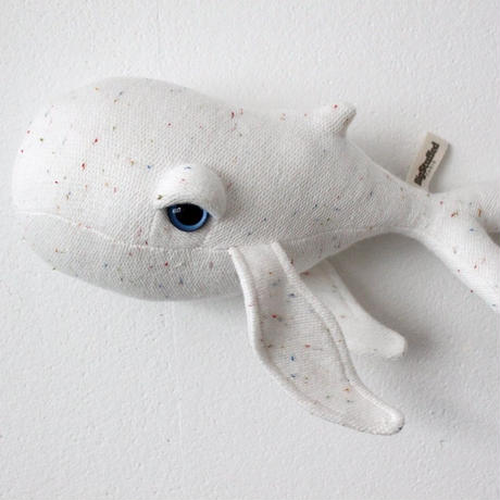 Big Stuffed //  MINI Albino Whale