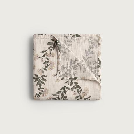 garbo&friends / Honeysuckle Muslin Swaddle Blanket