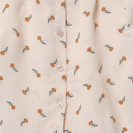 CARAMEL / MIRON BABY BLOUSE・TOFFEE DITSY FLOWER PRINT