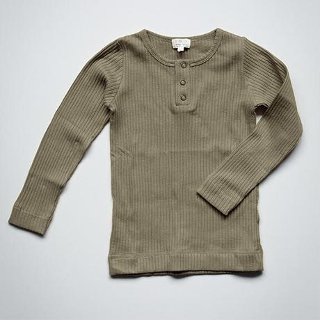 The Simple Folk / The Ribbed Top・SAGE / 3-6M~18-24M