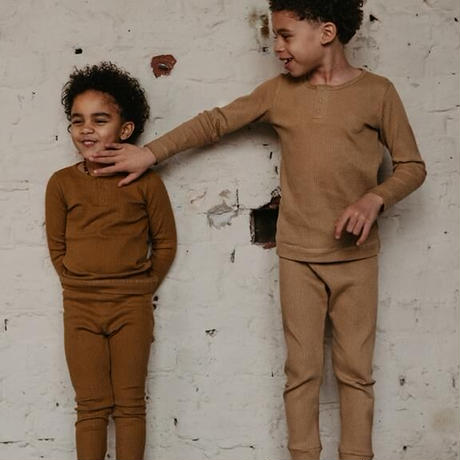 The Simple Folk / The Ribbed Top・BRONZE / 3-6M~18-24M