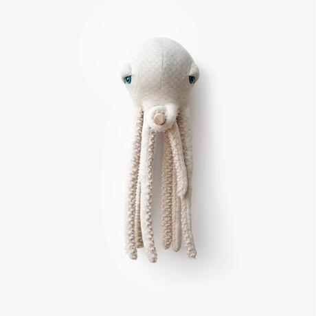 Big Stuffed //  Small Albino Octopus