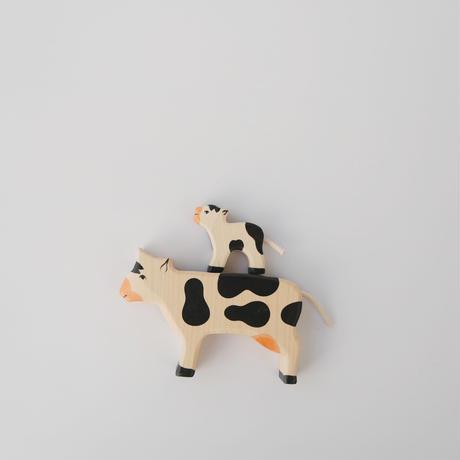 Holztiger / Cow, standing, black