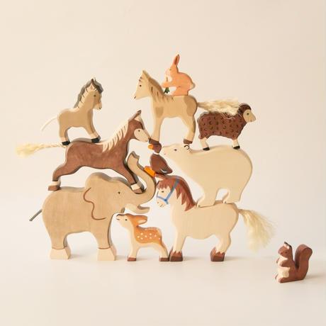 Holztiger / Cart horse