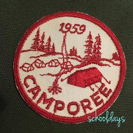 ボーイスカウトオブアメリカ キャンプ  ヴィンテージワッペン