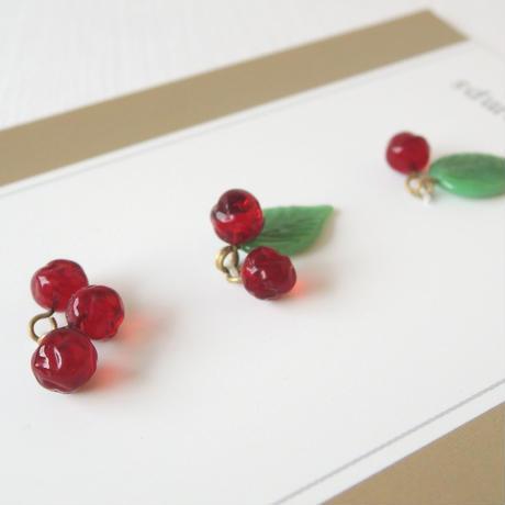 Merry Berry Bead set・クリムゾン&モス