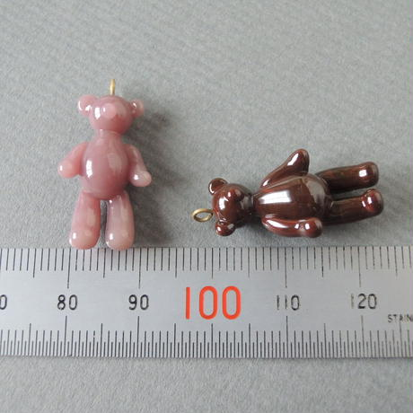 Teddy Bear charm*1個