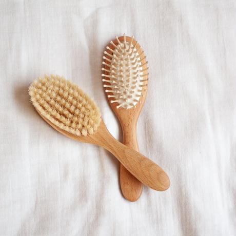 Wood Peg Hair Brush