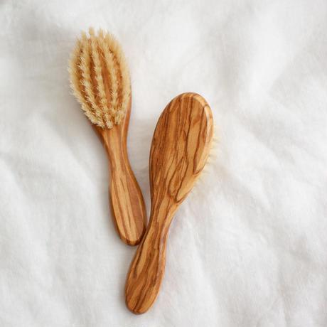 Children Hair Brush(Olive Wood)