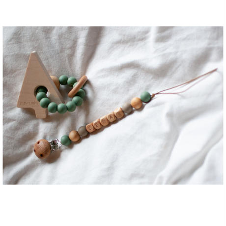 Baby Teether Ring (Mountain and tree)