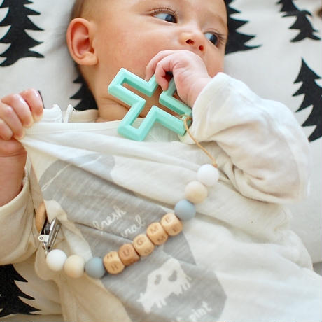 Personalized Soother Clip