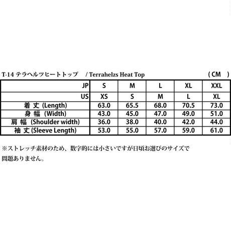 T-14 テラヘルツ ヒートトップTerrahelzs Heat Top