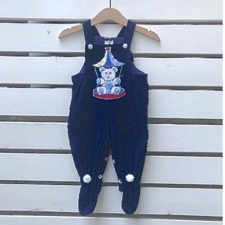 698.【USED】Circus Bear Rompers