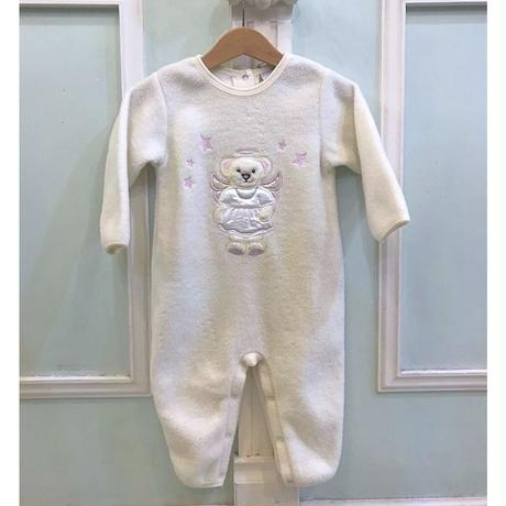388.【USED】Angel Bear Rompers