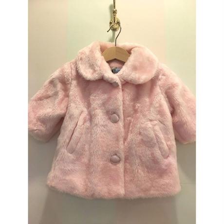 319.【USED】Pink Fur coat