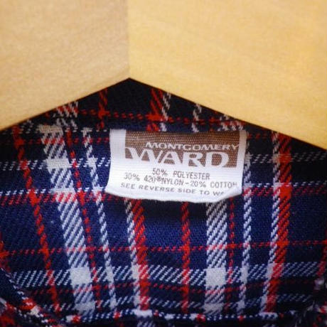 524.【USED】 VINTAGE Check Jacket