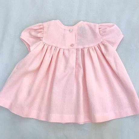 1683.【USED】Pink Flower Dress