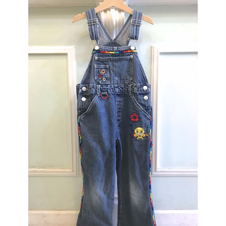 650.【USED】Pretty 'Tweety'  Overall