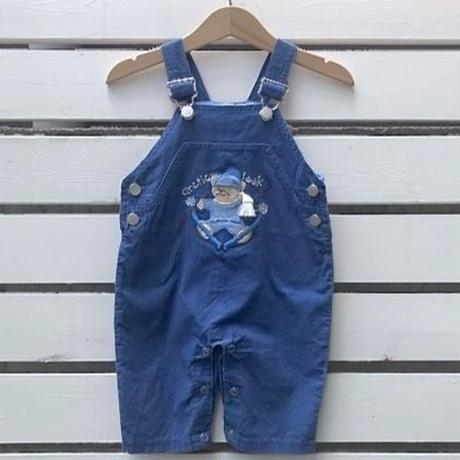 703.【USED】Skiing  Bear Overall