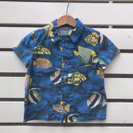 550.【USED】Fish print Shirts