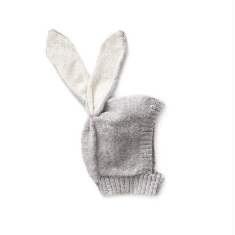 □【oeuf】Animal Hat /rabbit grey