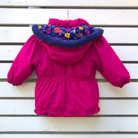 383.【USED】Flower Frill Down Jacket