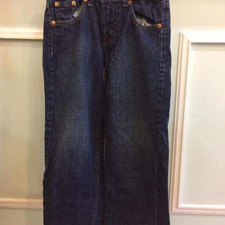 "83.【USED】""Levi's"" Denim long pants"