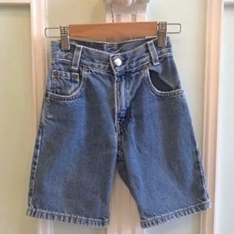 "672.【USED】""Levi's"" Denim Short  pants"