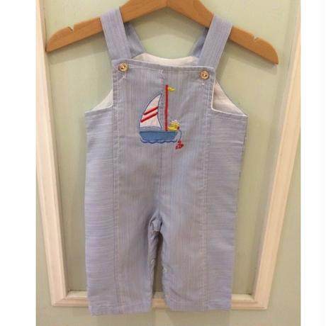 161.【USED】Captain chick Marine Rompers