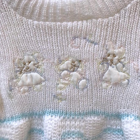 385.【USED】Animal Design Nitto Rompers