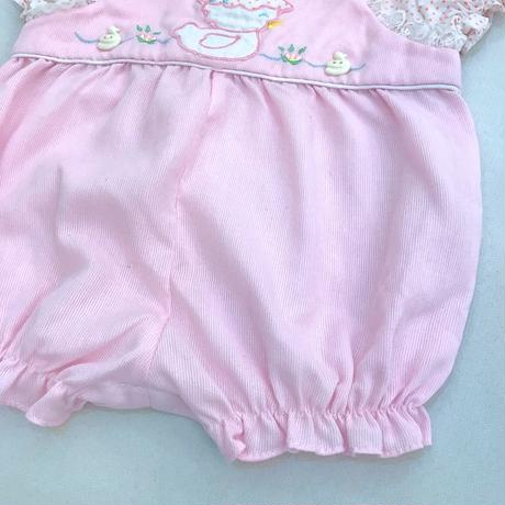 1680.【USED】Duck Frill Rompers