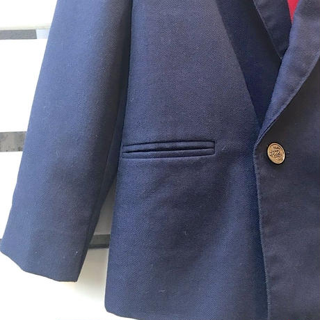 448.【USED】Navy one point formal jacket(made in U.S.A)