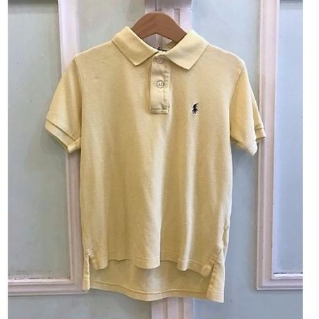 611.【USED】Ralph Lauren Polo shirt Pale Yellow