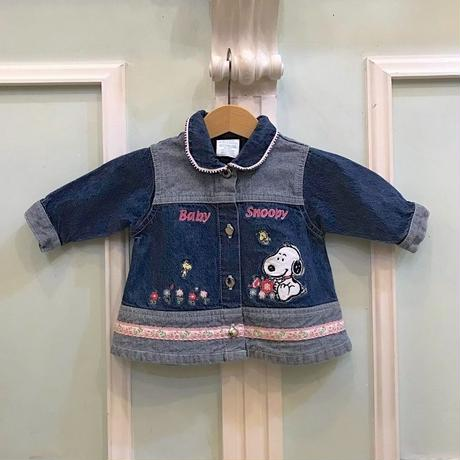 415.【USED】Baby Snoopy  Jacket