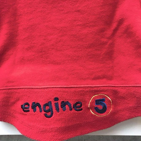500,【USED】 Red Fire engine Sweat