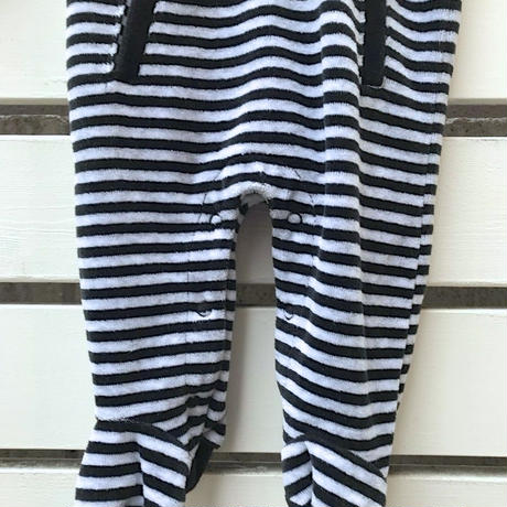 364.【USED】Grey border Rompers