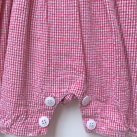 【USED】Cherry motif Rompers(Made in U.S.A.)