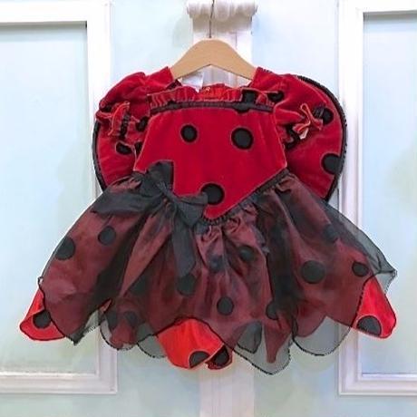 718.【USED】Ladybug Dress Costume