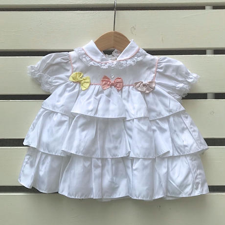 546.【USED】Frill Ribbon Dress