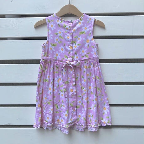 31.【USED】Pink flower frill Dress