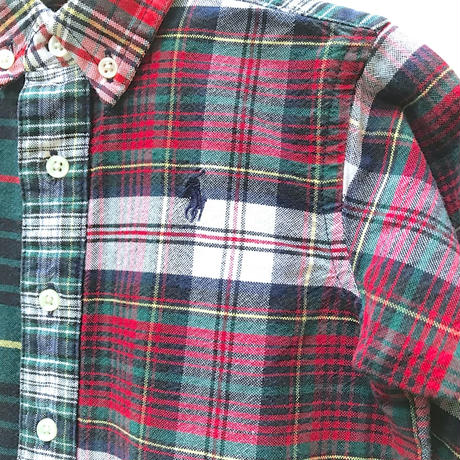 274.【USED】Ralph Lauren Check Rompers